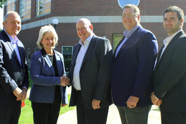 Bühler makes donation to U of I feed mill