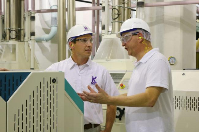IGP flour milling course