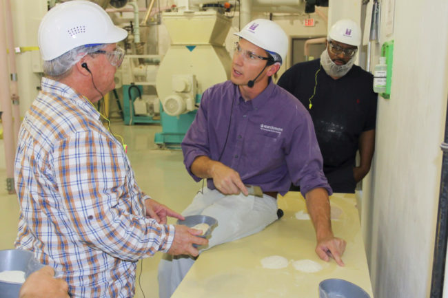 KSU flour milling course