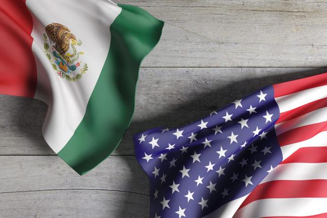 Us-mexico-flag