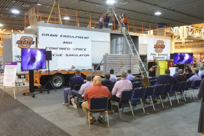 GEAPS grain entrapment safety