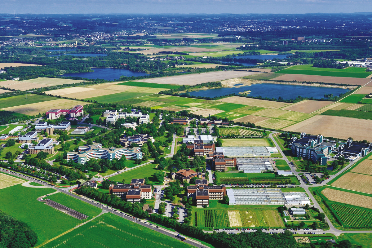 Headquarters of Bayer's agricultural business division Crop Science in Monheim Germany