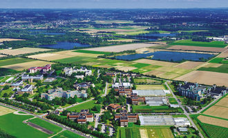 Bayer headquarters of bayers agricultural business  division crop science  in monheim germany  photo cred bayer ag e