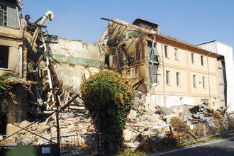 Antim grain dust explosion at flour mill in fossano italy july 2007 photo cred antim e