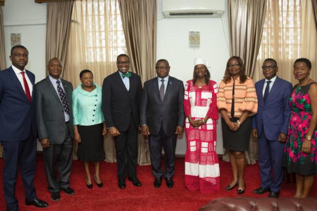 AfDB meeting in Sierra Leone