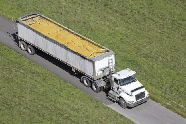 grain truck transportation