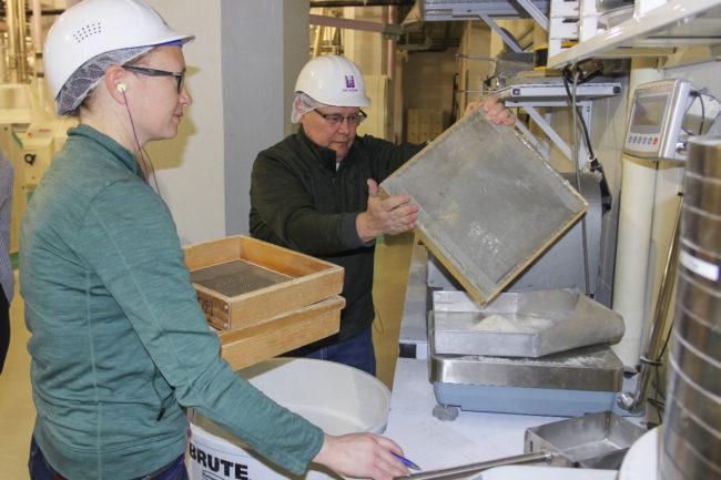 KSU wheat milling course