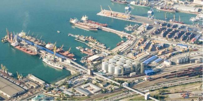 Novorossiysk grain terminal