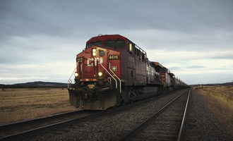 Canadian pacific train e