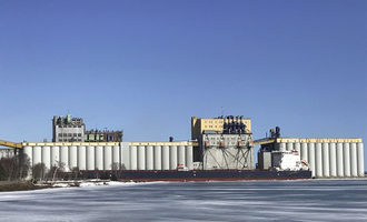 Port of thunder bay algoma equinox loading at richardsons main terminal at the port of thunder bay  photo cred thunder bay port authority e