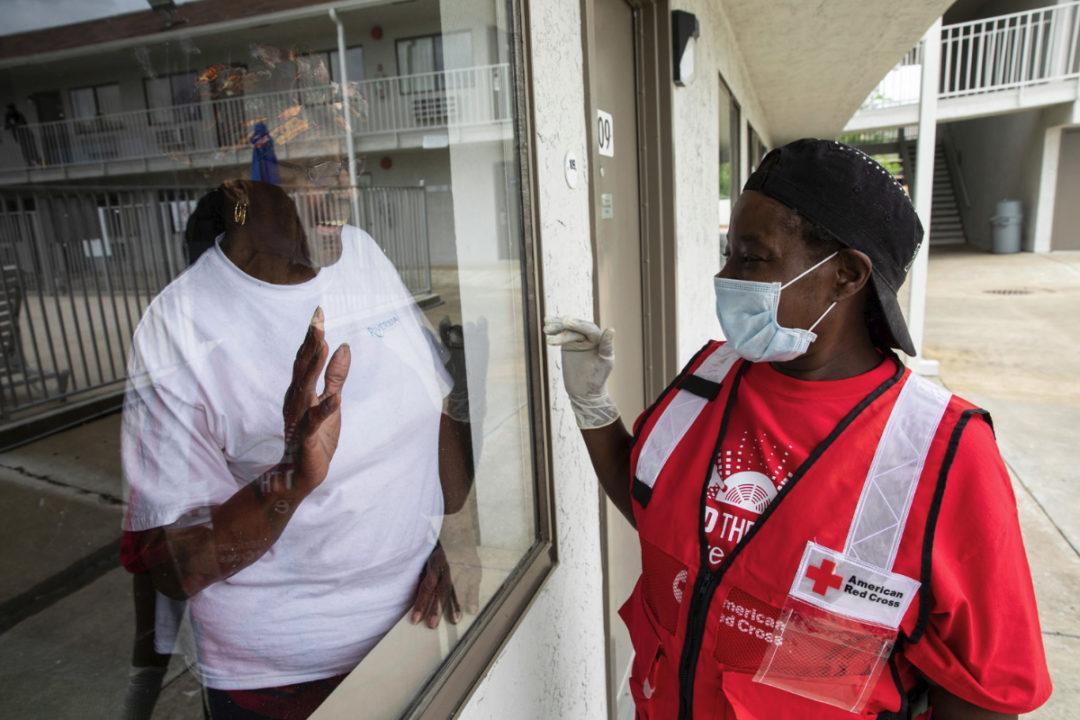 Red Cross help