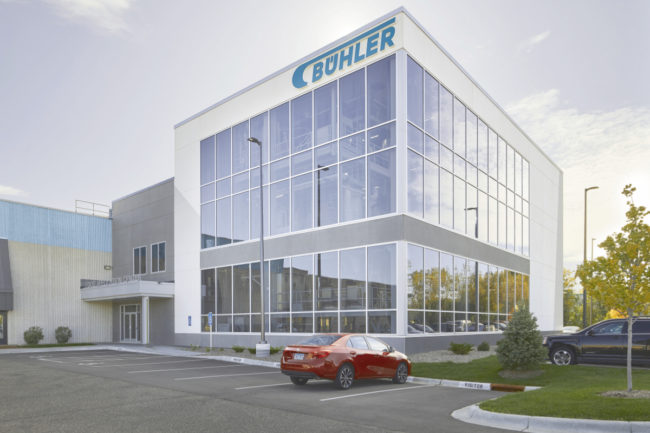 Buhler Food Application Center in Minneapolis Minnesota