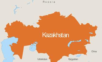Kazakhstan map e
