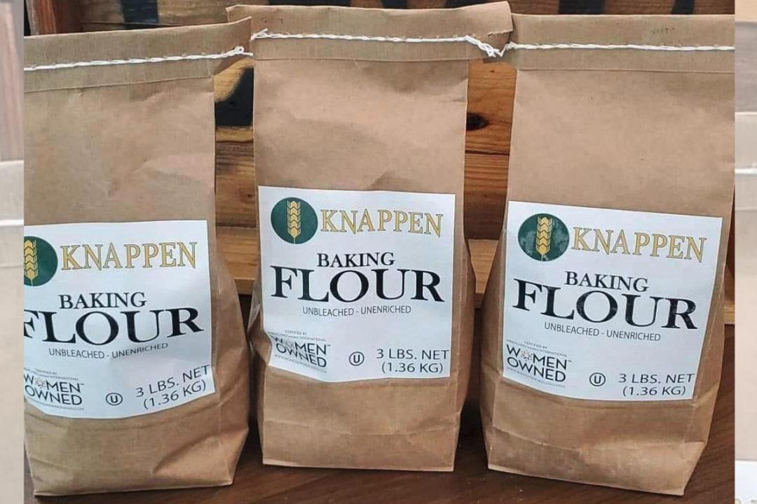 Knappen Milling bakery flour