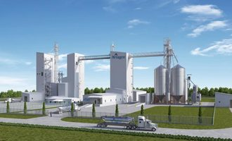 Aviagen feed facility rendering in tennesse photo cred aviagen