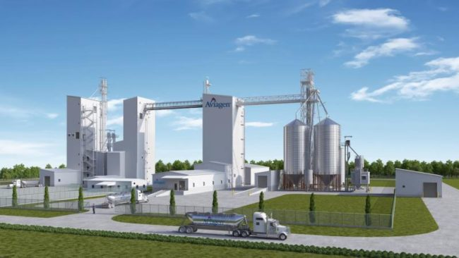 Aviagen feed mill
