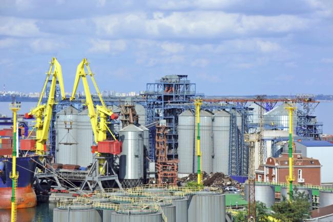 Port of Odessa Ukraine
