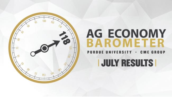 July ag producer senitment