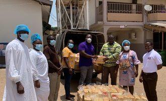 Olam olam donates bread in ghana photo cred olam