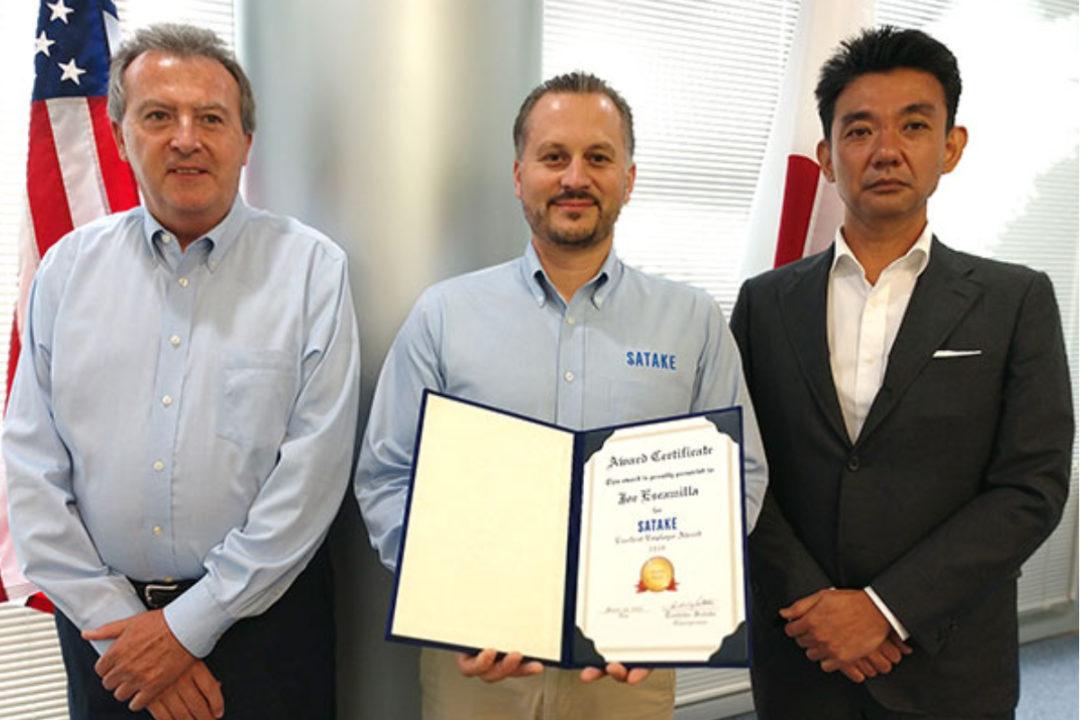Satake employee award