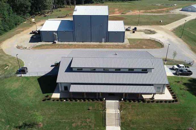 Auburn University feed research center