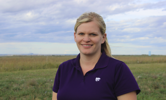 Afia cassie jones ksu associate professor in animal sciences and industry photo cred of afia e