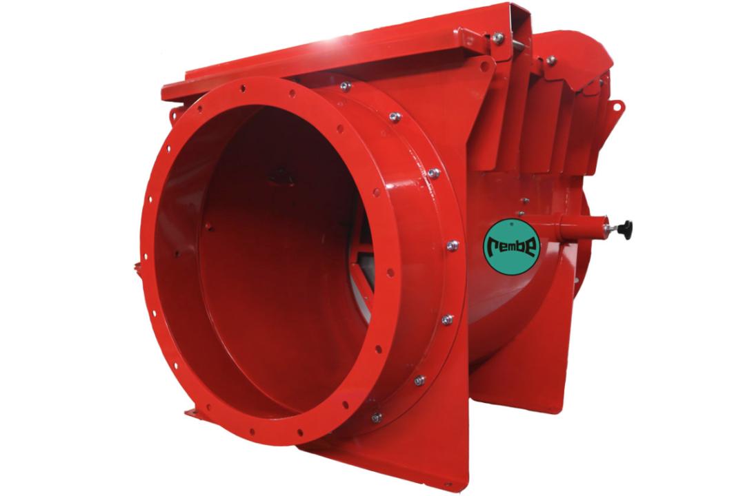 Rembe Q-Flap NX inlet explosion isolative valve