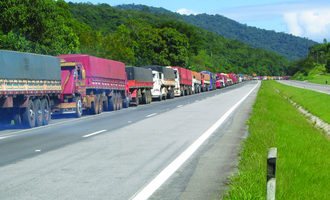 Brazil truck traffic photo cred adobestock e