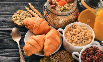 Baked foods and cereals photo cred adobe stock e