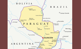 Focus on paraguay map photo cred adobe stock e jan
