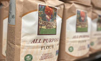Shepherds grain flour bag photo cred sheperds grain e