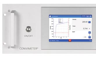 Brabender convimeter ii for viscosity measurement photo cred brabender e
