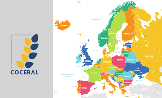 Coceral logo map of europe photo cred coceral and adobe stock e