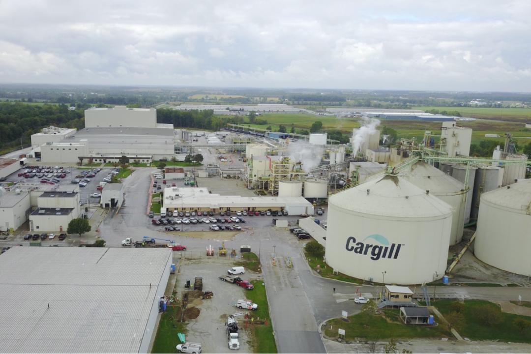 Cargill Sidney Ohio US soy crush facility