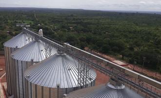 Ocrim grain silo storage at the sbci industrie flour mill in burkina faso photo cred ocrim e
