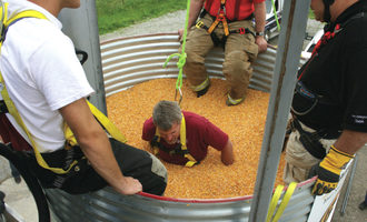 Geaps grain entrapment training photo cred geaps e
