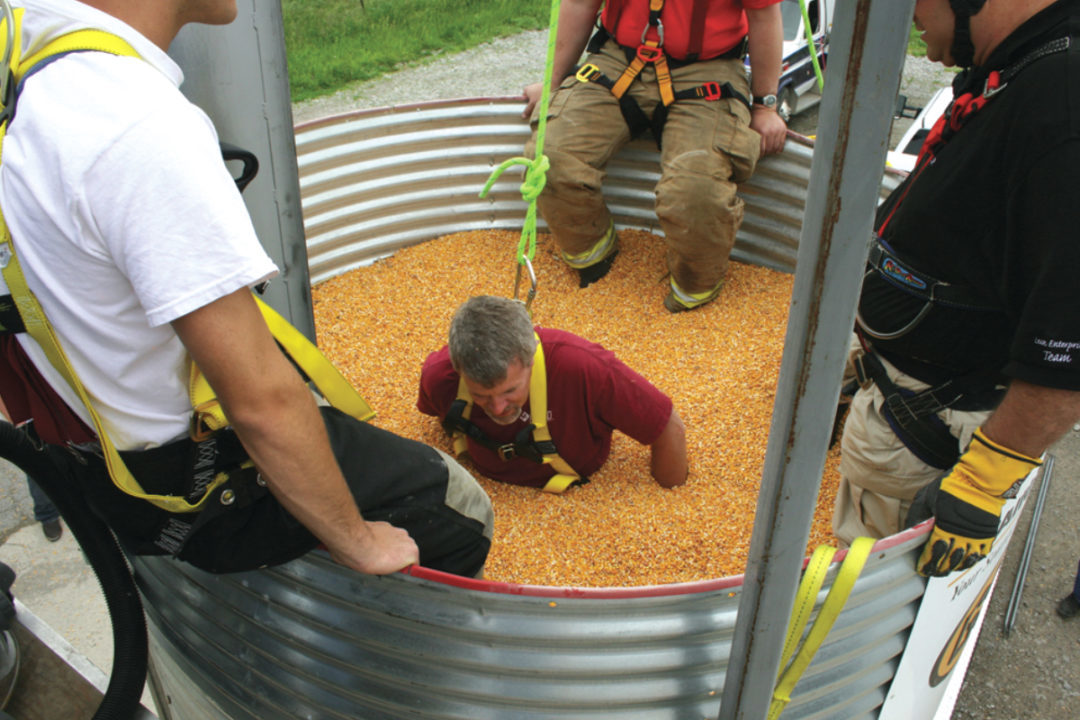 grain entrapment safety