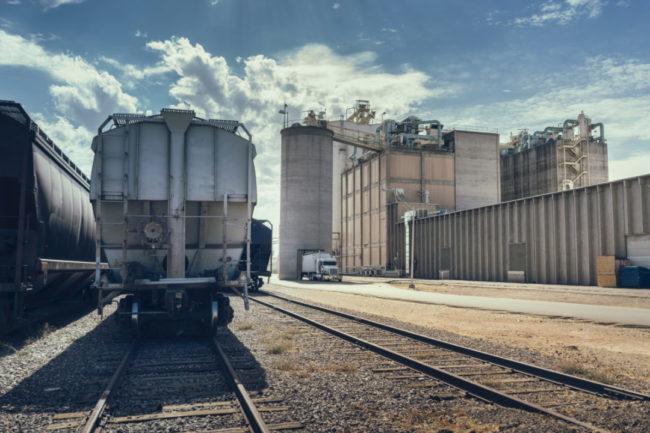 grain transportation via rail