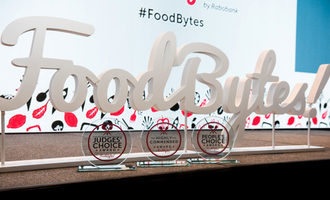Rabobank foodbytes sign photo cred rabobank e