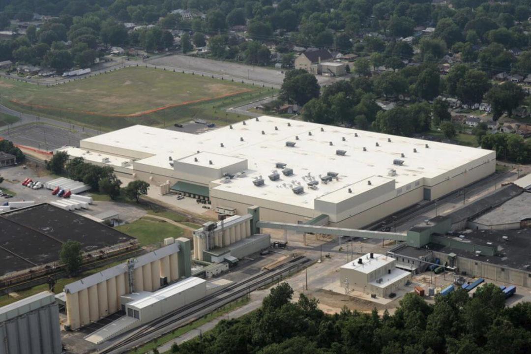 Riviana Memphis facility