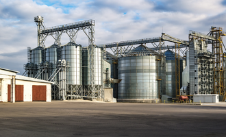 Feed ops improving feed mill efficiency feed mill photo cred adobe stock may e