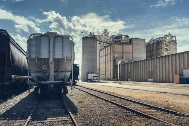 Grain transportation via rail photo cred adobe stock e