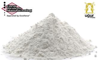 Great western ugur logo on flour e