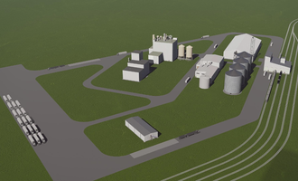 Srsp soybean crush plant rendering in shell rock iowa us photo cred srsp e