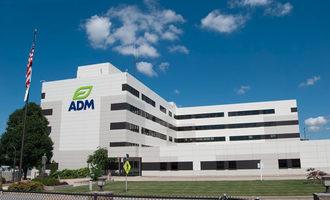 Adm facility with new logo photo cred adm e