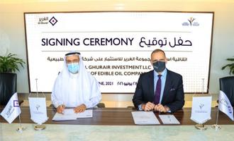 Al ghuhair khalid bin kalban chairman dubai investments industries  john iossifidis, group ceo at al ghurair photo cred al ghurair possible
