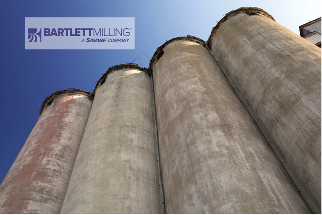 Bartlett milling co logo and concrete silos photo cred barlett and adobe e