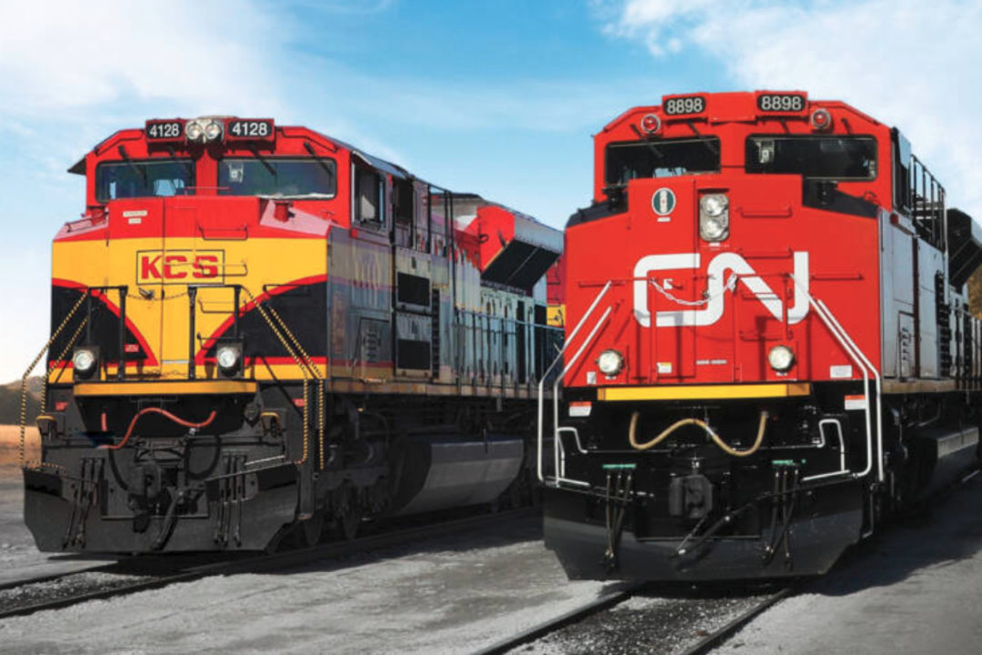 CN KCS trains