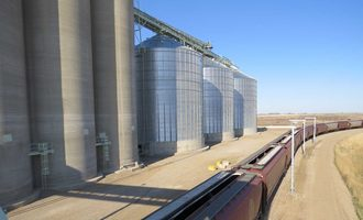 Ceres global ag northgate terminal in saskatchewan shuttle loading canola photo cred ceres
