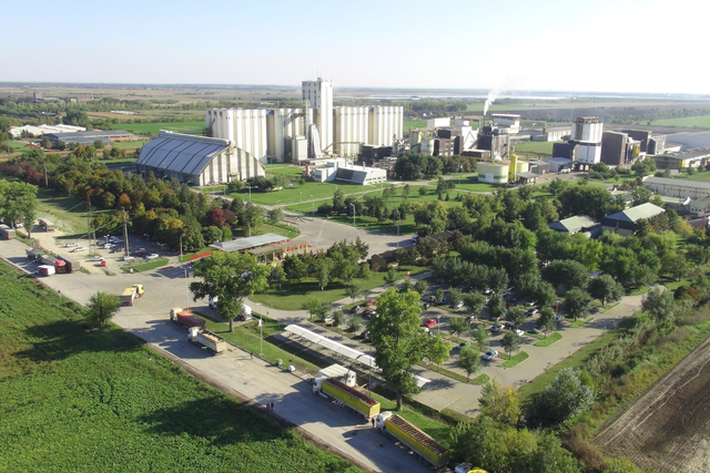 Adm sojaprotein facility for nongmo soy ingredients adm e